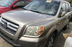 Foreign Used Honda Pilot 2006 Model Gold