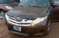 Nigeria Used Toyota Venza 2009 Model Brown