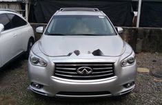 Foreign Used Infiniti QX60 2014 Model Silver