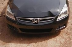 Foreign Used Honda Accord 2007 Model Blue