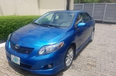 Nigeria Used Toyota Corolla 2009 Model Blue