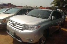 Nigeria Used Toyota Highlander 2012 Model Silver