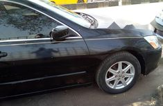 Nigeria Used Honda Accord 2004 Model Black
