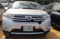 Nigeria Used Toyota Highlander 2011 Model Silver