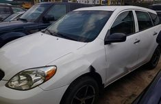 Nigeria Used Toyota Matrix 2005 Model White