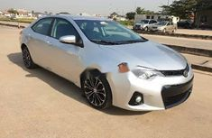 Foreign Used Toyota Corolla 2015 Model Silver