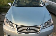 Foreign Used Lexus ES 2011 Model Blue