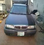 Nigeria Used Rover 216 1997 Model Green
