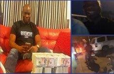 Nigerian Big Boy Mompha shares video of himself on Okada in Lagos