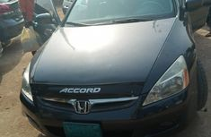 Nigeria Used Honda Accord 2007 Model Gray V6 Engine