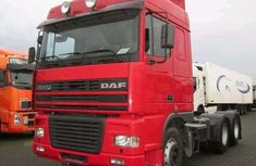 Foreign Used Daf  XF95 Truck 1999 Model Red