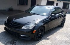 Foreign Used Mercedes-Benz C350 2010 Model Black