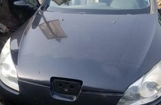 Foreign Used PEUGEOT 407 2008 Model Black for Sale