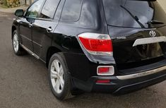 Nigeria Used Toyota Highlander SUV 2012 Model Black