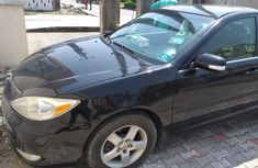 Nigeria Used Toyota Camry 2003 Model Black for Sale