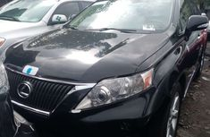 Foreign Used Lexus RX 350 2010 Model Black for Sale