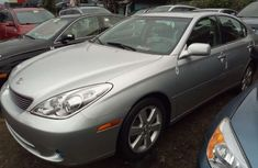 Foreign Used Lexus ES 330 2005 Model Silver for Sale