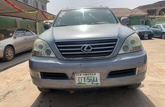 Nigeria Used Lexus GX470 2007 Model Silver for Sale