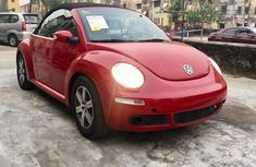 Red Used Volkswagen Beetle 2006 Model for Sale