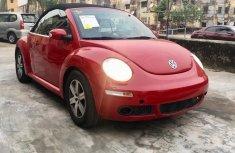 Red Used Volkswagen Beetle 2006 Model for Sale