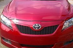 Foreign Used Toyota Camry 2007 Model Red for Sale