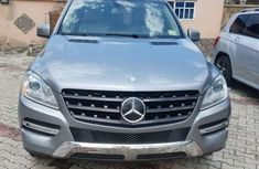 Foreign Used Mercedes Benz ML350 2013 Model Gray