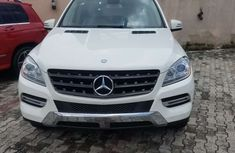 Foreign Used Mercedes Benz ML350 2013 Model White for Sale