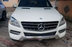 Foreign Used Mercedes Benz ML350 2013 Model White
