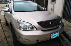 Nigeria Used Lexus RX330 2004 Model Silver for Sale