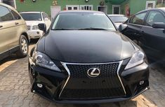 Foreign Used Lexus IS250 2007 Model Black for Sale