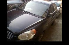 Nigeria Used Hyundai Accent 2007 Model Black for Sale