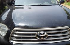 Foreign Used Toyota Highlander SUV 2009 Model Black