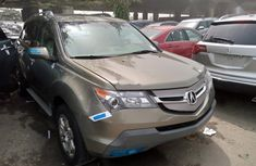 Foreign Used Honda Acura MDX 2008 Model Gold