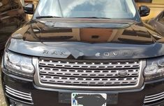 Nigeria Used Land Rover Range Rover Vogue 2016 Model Black