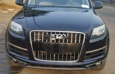 Foreign Used Audi Q7 2012 Model Black
