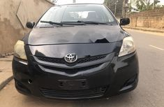 Nigeria Used Toyota Yaris 2008 Model Black