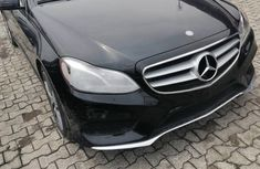 Foreign Used Mercedes-Benz E350 2014 Model Black