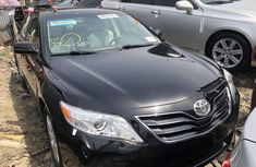 Foreign Used Toyota Camry XLE 2008 Model Black