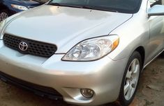Foreign Used Toyota Matrix 2004 Model Silver for Sale