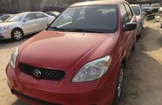 Foreign Used Toyota Matrix 2003 Model Red for Sale