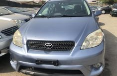 Foreign Used Toyota Matrix 2004 Model Blue for Sale