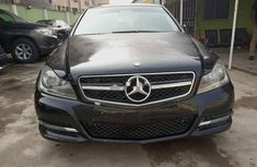 Nigeria Used Mercedes-Benz C300 2012 Model Black
