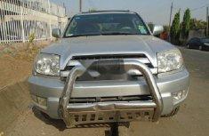 Nigeria Used Toyota 4-Runner 2005 Model Silver