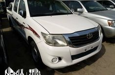 Foreign Used Toyota Hilux 2013 Model White