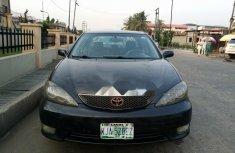 Nigeria Used Toyota Camry 2005 Model Black
