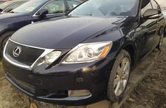 Foreign Used Lexus GS 2008 Model Black