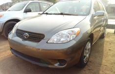 Foreign Used Toyota Matrix 2006 Model Gray