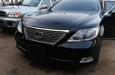 Foreign Used Lexus LS 2009 Model Black