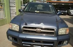 Foreign Used Nissan Pathfinder 2005 Model Blue