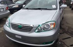Foreign Used Toyota Corolla 2007 Model Silver